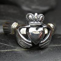 """Серебряное кольцо с обделкой """"под старину"""""""