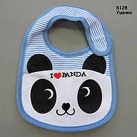 """Слюнявчик Carter's """"Панда"""" на липучке для малыша"""