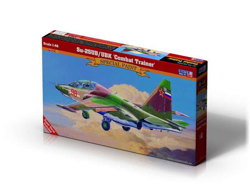 Штурмовик Су-25УБ/УБК Combat Trainer. 1/48 MISTER CRAFT G-11