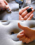 Чем заклеить надувной матрас с велюровым покрытием?