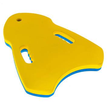Дошка для плавання трикутна(39*27*3,5 см)