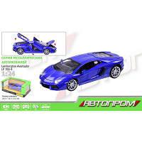 "Машина металл 68254A ""АВТОПРОМ"" 1:24 Lamborghini Aventador"