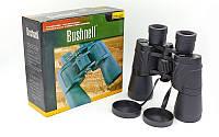 Бинокль BUSHNELL 50х50  (пластик, стекло, PVC-чехол)