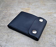 Компактное портмоне с монетницей Coin | Винтажный Графит, фото 1