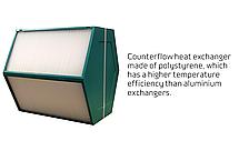 Рекуператор с тепловым насосом Combi 302 Polar, фото 2
