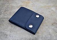 Компактное портмоне с монетницей Coin | Винтажный Синий, фото 1