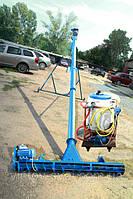 Протруювач насіння з підбирачем шириною 2 м в трубі 108 мм довжиною 3 м, фото 1