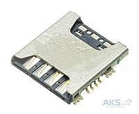 (Коннектор) Aksline Разъем SIM-карты Samsung G800 Galaxy S5 mini