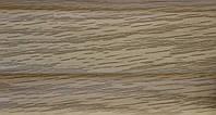Плинтус и комплектующие с кабель  каналом и мягким краем. BS26 Дуб элегант, фото 1