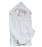 Полотенце-уголок с капюшоном BabyLine