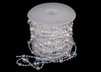 Пластиковая гирлянда для декора на нитке, 10 метров