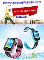 Детские смарт-часы с GPS трекером Smart GPS V6G WaterProof  водонепроницаемые, камера