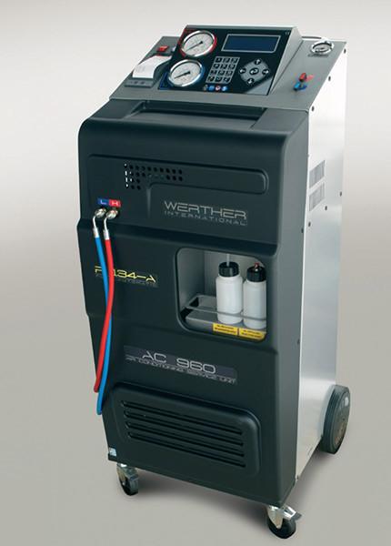 Автоматическая установка для заправки автомобильных кондиционеров Werther Simal 2712 - Novatech-sto.com.ua в Виннице