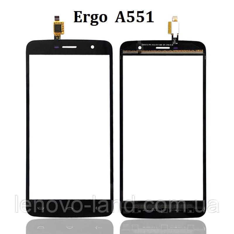 Сенсор (тачскрин) для Ergo A551 (сенсор оригинал)