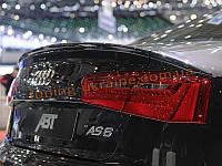 Спойлер реплика ABTдля Audi A6 C7 2011-2014