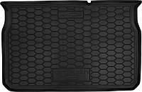 Пластиковый коврик в багажник Citroen C3 III 2017- (AVTO-GUMM)