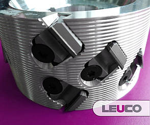 100x43x30, z=3+3 Алмазная фреза для прифуговки под кромку LEUCO DIAMAX SmartJointer airFace DP (Brandt), фото 2