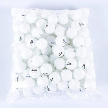 Шарики для настольного тенниса Wilson G40+  белые (144 шт в упаковке)
