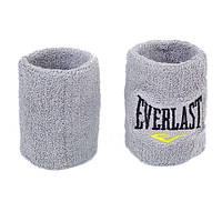 Напульсник махровый серый 1 шт Everlast BC-5755-GR
