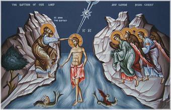 19 января 2018: Крещение Господне, Богоявление.
