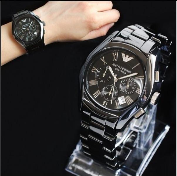 282d0e25 Мужские часы Armani Ceramic Chronograph 3 - купить Украина ...