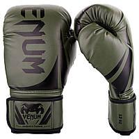 Перчатки боксерские Venum Challenger 2.0 Khaki/Black 10oz, фото 1