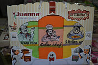 Набор кухонных полотенец Juanna Restaurant 3 шт. 50х70  jn-09