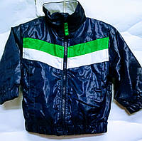 Детская куртка-ветровка Handsome синяя на рост 80