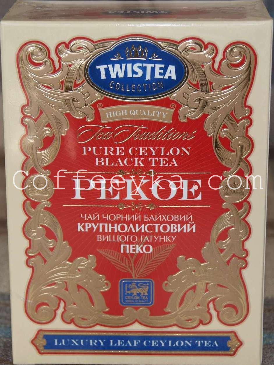 Чай чёрный  Twistea Tea Traditions Pekoe 100 гр