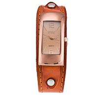 Наручные женские часы c кожаным ремешком код 205