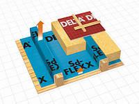 Активная пароизоляционная пленка DELTA-Sd-FLEXX