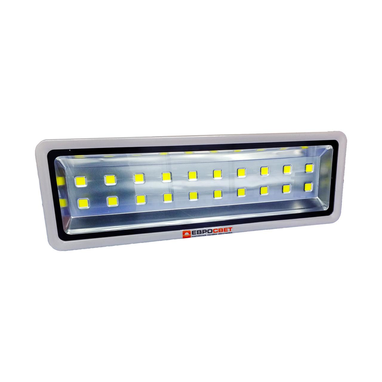 LED Прожектор Евросвет 750W 6400K IP65 67500Lm EV-750-01