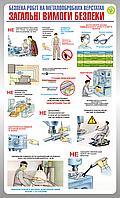 Стенд Безопасность работ на металлообрабатывающих  станках