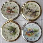 Часы настенные GOTIME GT-2741F 27,5 см. плавный ход,