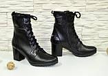 Кожаные женские ботинки демисезонные от производителя, фото 2