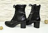 Кожаные женские ботинки демисезонные от производителя, фото 3