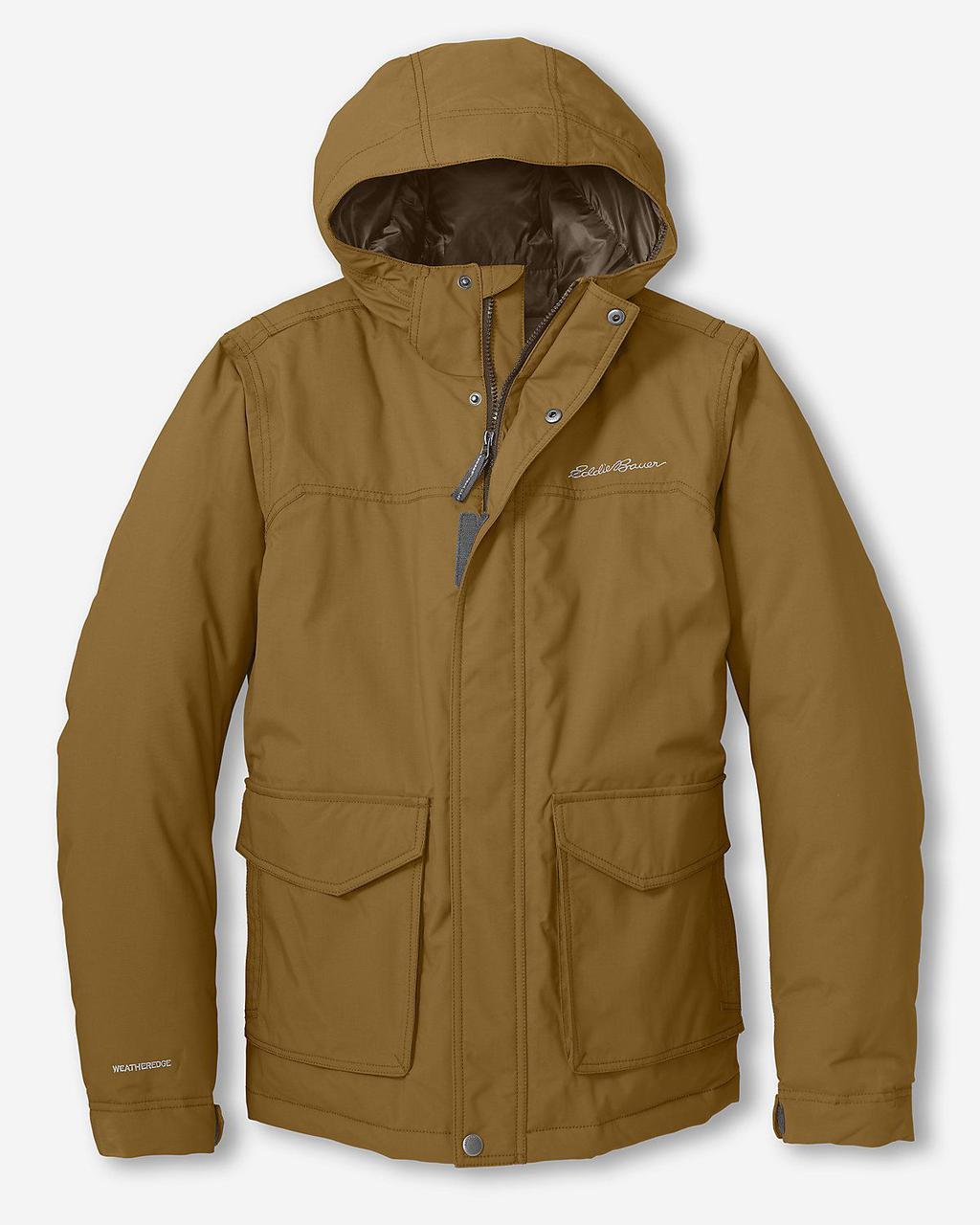 Куртка Eddie Bauer Mens Superior Down VICUNA