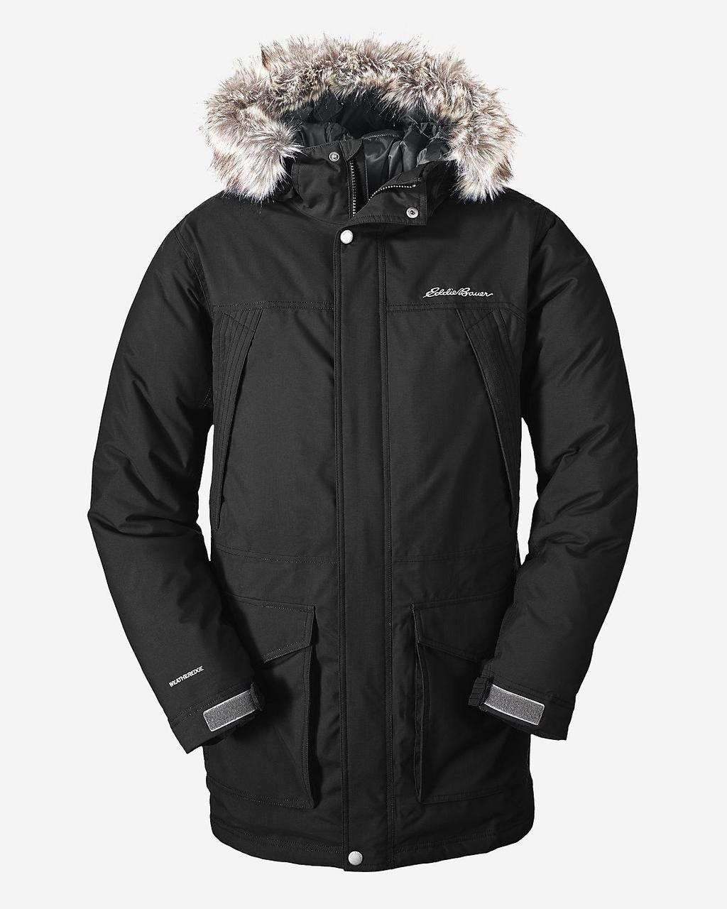 Мужская парка Eddie Bauer Mens Superior Down Parka BLACK