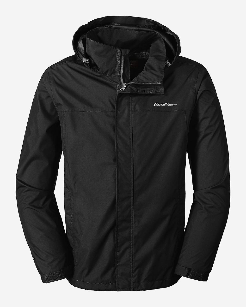 Мембранная куртка мужская Eddie Bauer Mens Rainfoil BLACK