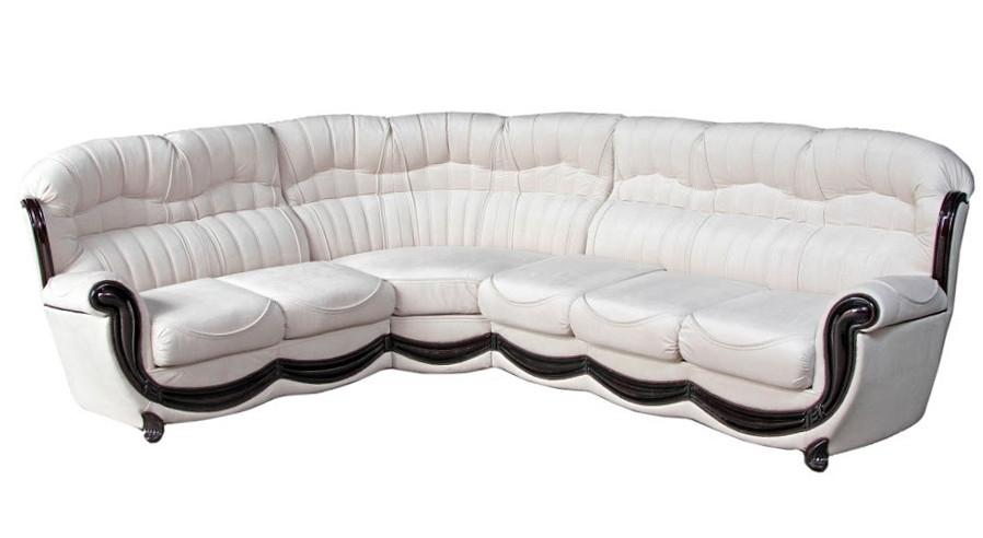 Кожаный диван Джозеф, раскладной диван, мягкий диван, мебель из кожи, диван