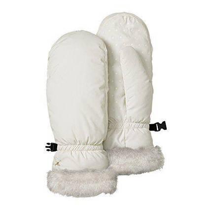 Перчатки Eddie Bauer Womens Essential Down Mittens White, фото 2