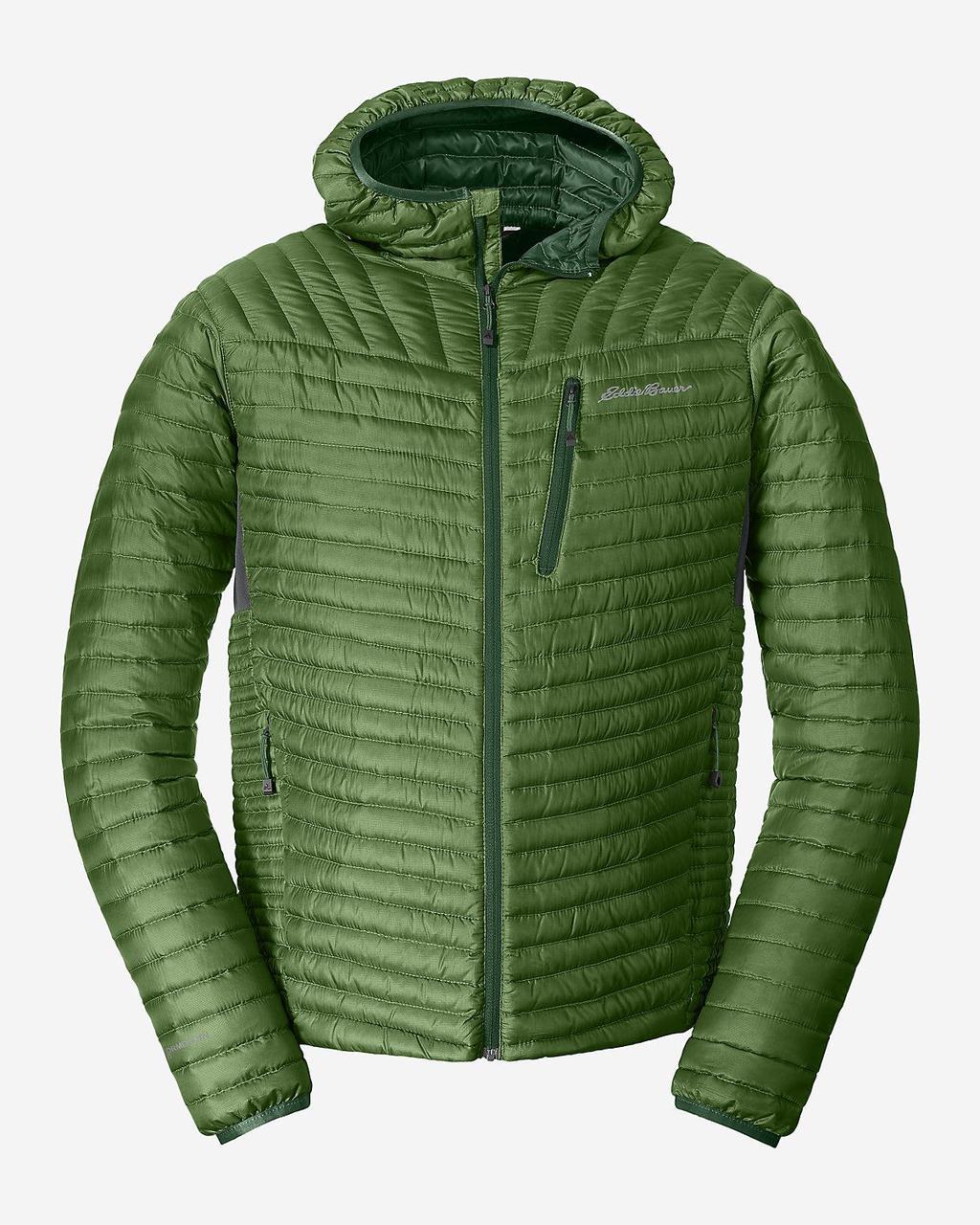 Куртка Eddie Bauer Mens MicroTherm StormDown Hooded CYPRUS