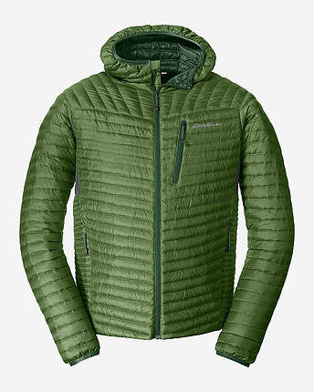 Куртка Eddie Bauer Mens MicroTherm StormDown Hooded CYPRUS, фото 2