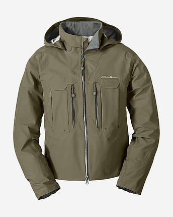 Мембранная куртка мужская  Eddie Bauer Mens Immersion Wading Jacket Guide Green, фото 2