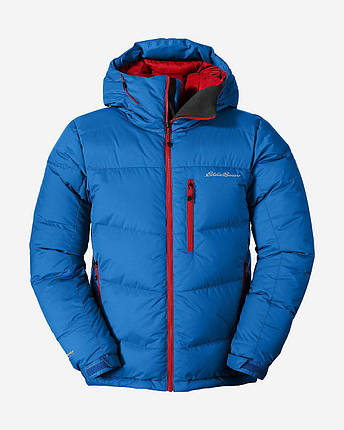 Мужской пуховик Eddie Bauer Men Peack XV Down Jacket ASCENT BLUE , фото 2
