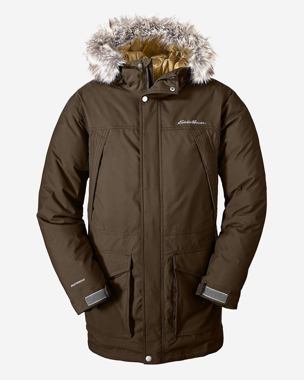 Куртка Eddie Bauer Mens Superior Down Parka OAK