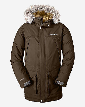 Куртка Eddie Bauer Mens Superior Down Parka OAK, фото 2