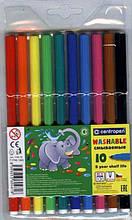 Фломастери, 10 кольорів, довж.письма - 450м, 7790, CD