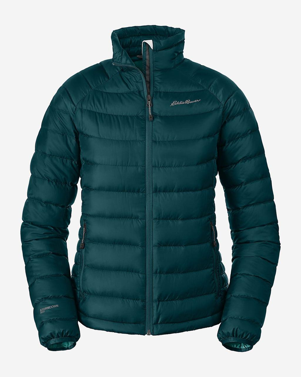 Куртка Eddie Bauer Womens Downlight StormDown Jacket DEEP SEA