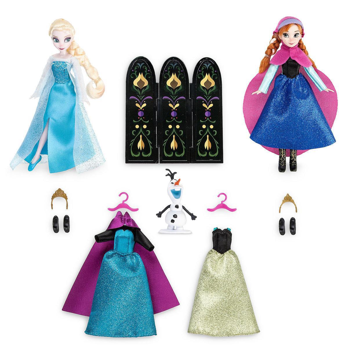 Анна и Эльза набор кукол и гардероб Холодное сердце ДИСНЕЙ / DISNEY Frozen